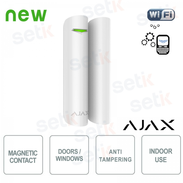 Ajax Contatto magnetico allarme wireless porta / finestra 868Mhz