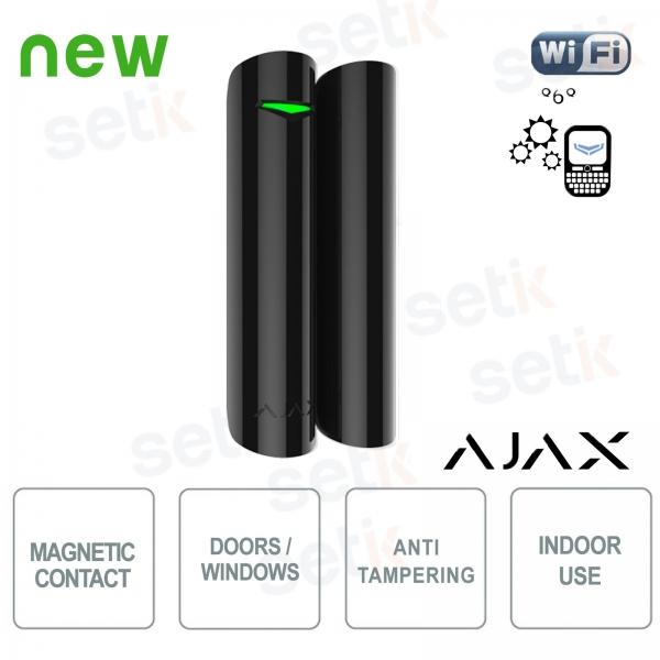 Ajax Contatto magnetico allarme wireless porta / finestra 868Mhz Black