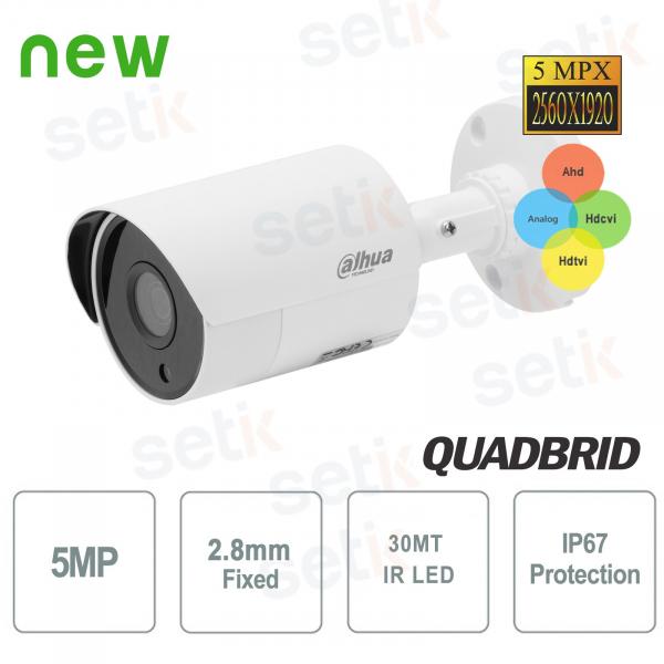 Dahua outdoor 5MP 4in1 2.8mm IR camera