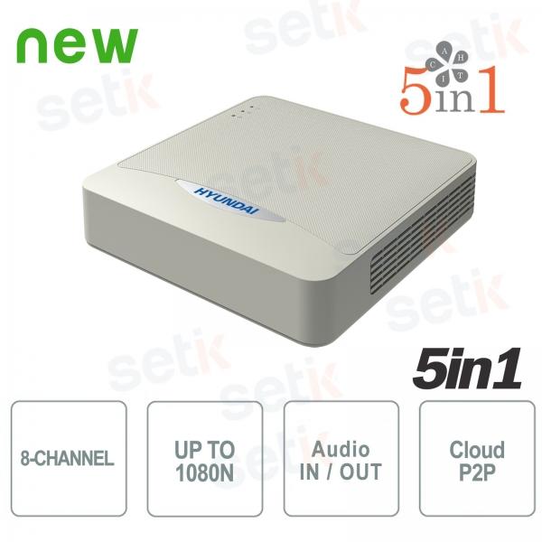 DVR 8 Canali IP HDCVI HDTVI AHD Analogico 1080N ZVR Hyundai
