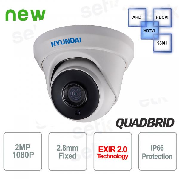 Telecamera Videosorveglianza Hyundai 2 MP 4 in 1 Dome 2.8mm IR 40M