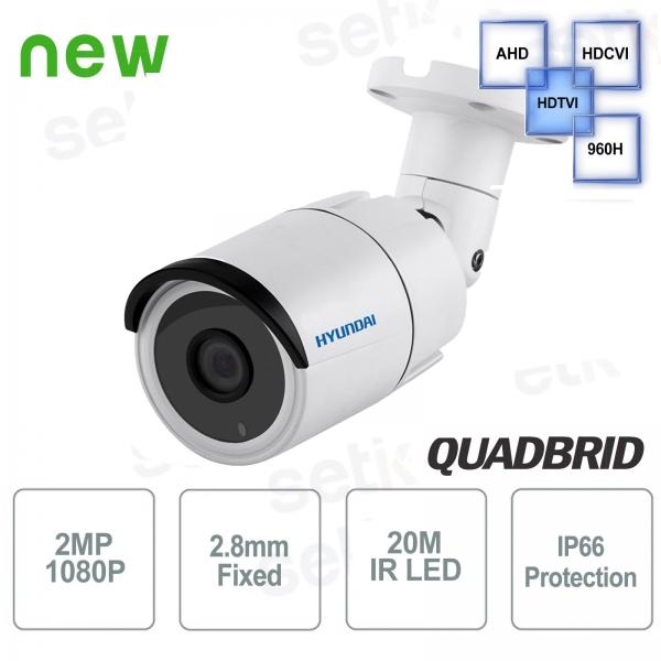 Hyundai 2 MP 4 in 1 Bullet 2.8 mm IR20 camera