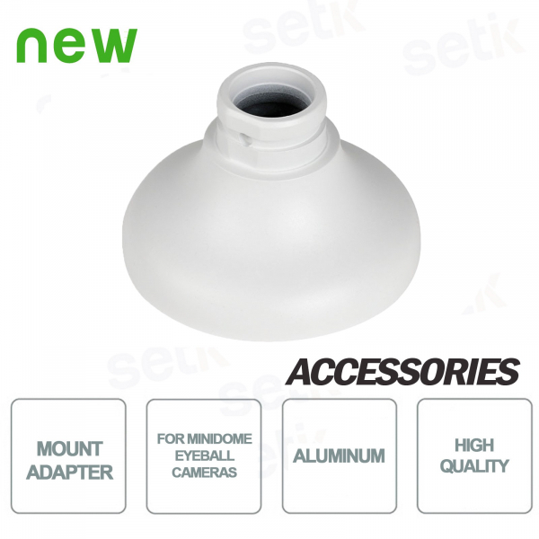 Adapter for mini dome and eyeball cameras - Dahua