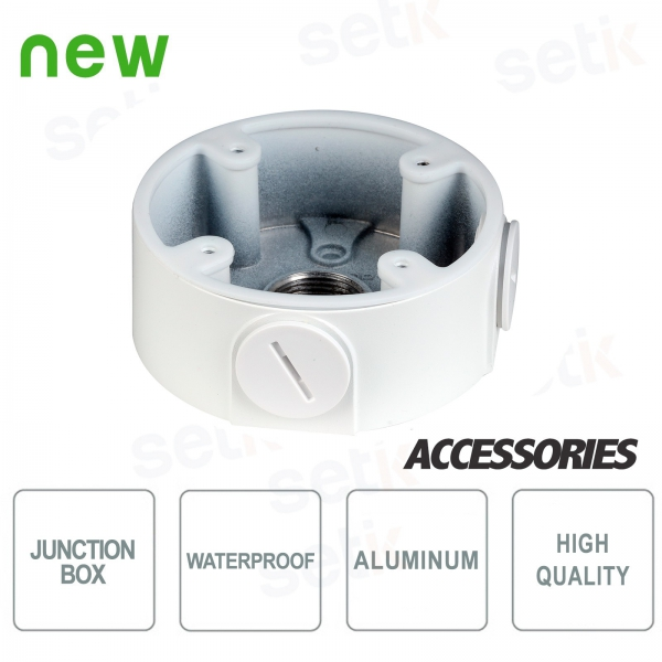 Water-proof junction box for Dahua dome cameras