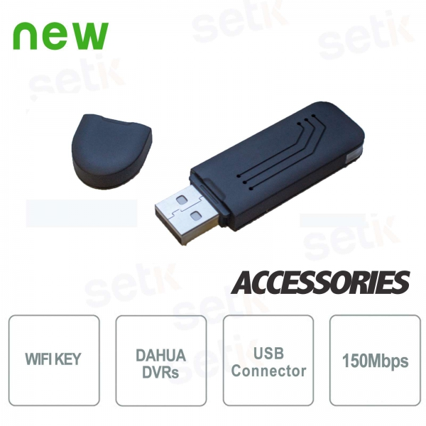 WiFi key for network connection DVR Dahua