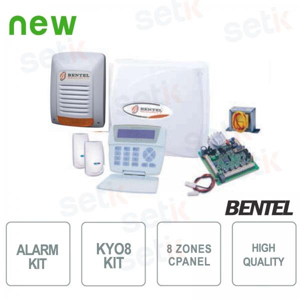 Kit Kyo 8 Bentel Wire Alarm 8 Zone Anti-theft KYO8