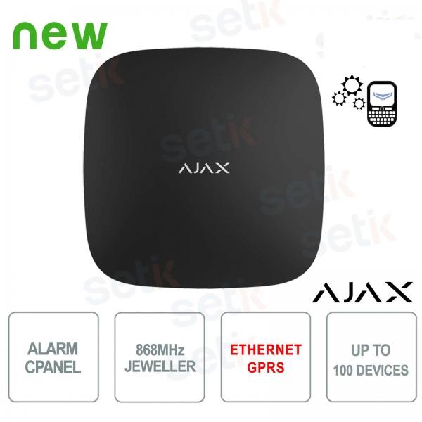 Ajax HUB GPRS / LAN Alarm Control Panel 868MHz Black Version