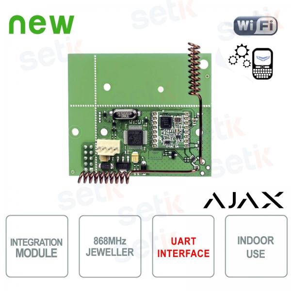 Ajax uartBridge modulo integrazione sensori Ajax in sistemi di terze parti