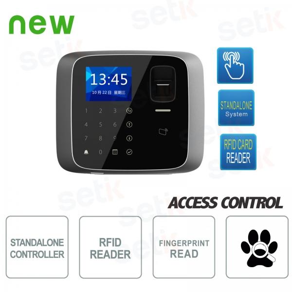 Terminale Biometrico con Lettore RFID EM 125KHz Dahua