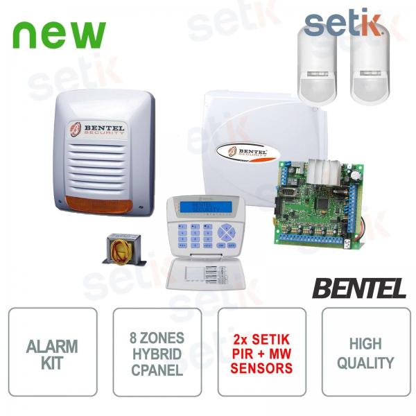 Bentel KYO Home Alarm System + Setik sensors