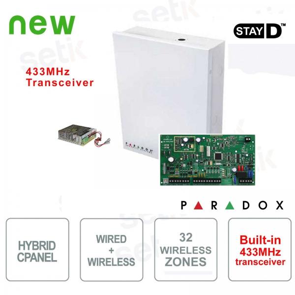 Magellan Centrale Alarm Paradox MG5050 Wireless 433MHz Cablable Hybrid