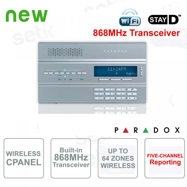 Magellan Centrale Allarme Paradox MG6250S/86 Senza Fili 868MHz