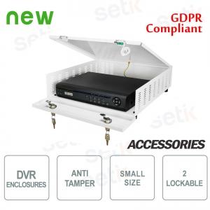 Pulsar contenitore metallico box DVR Tamper - Small Plus