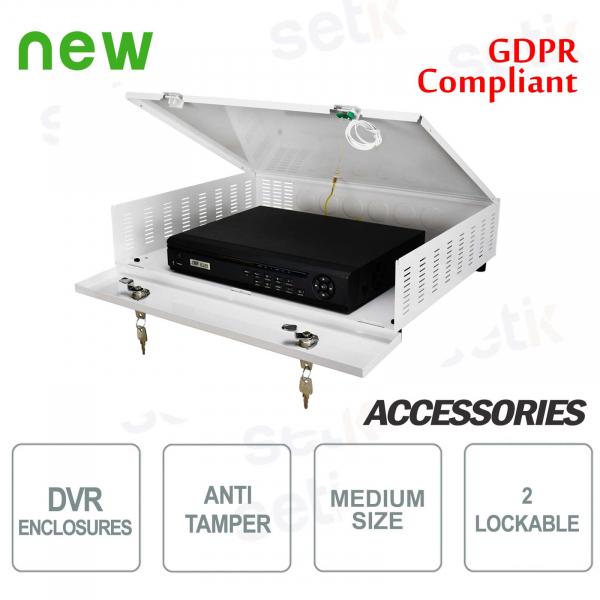 Pulsar contenitore metallico box DVR Tamper - Medium