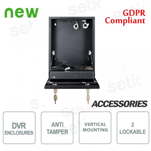 Pulsar contenitore metallico box DVR Tamper - Mini Vertical