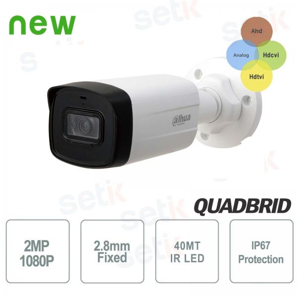 HD CVI 2MP 4in1 2.8mm IR 40M Dahua outdoor camera