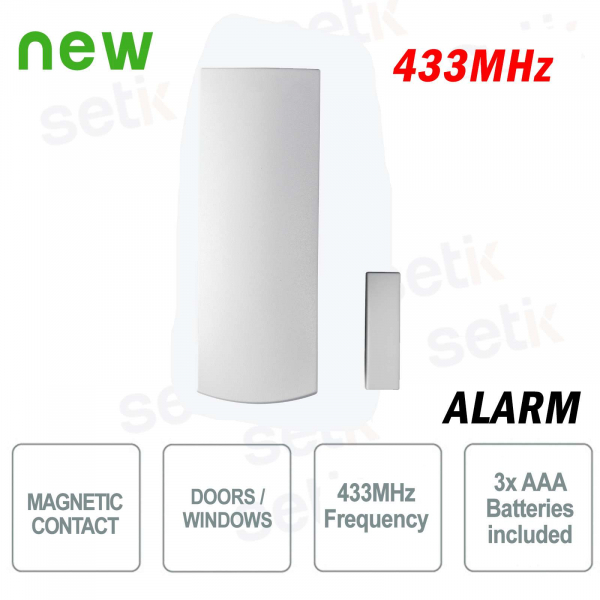 Paradox Magnetic contact wireless door / window alarm 433Mhz