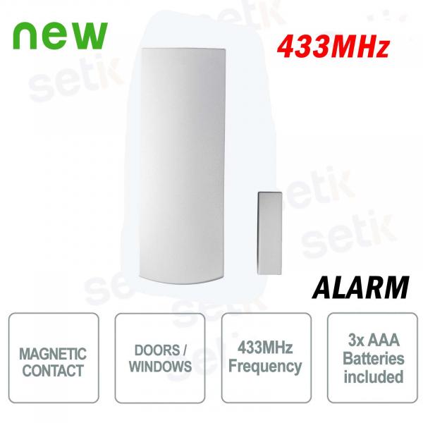 Paradox Contatto magnetico allarme wireless porta / finestra 433Mhz