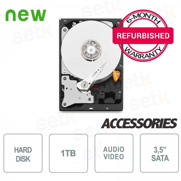 HD 1TB 3.5 Hard Disk - Refurbished with Warranty - High Quality
