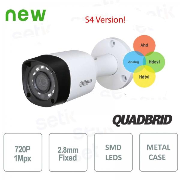 Dahua 4in1 HD 720P Camera HDCVI / HDTVI / AHD / ANALOG 2.8mm