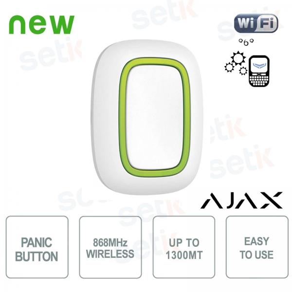 Ajax Pulsante di soccorso allarme panico senza fili 868MHz