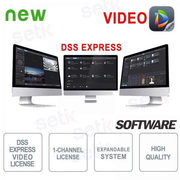 VMS Dahua Software DSS EXPRESS Video Lic