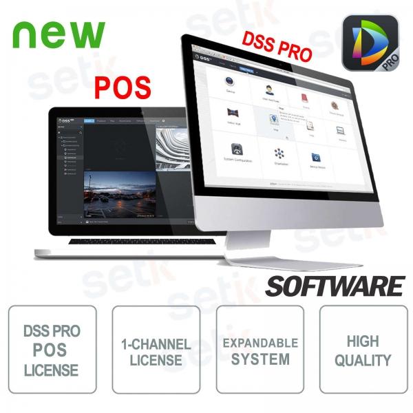 VMS Dahua Software DSS PRO Licenza POS