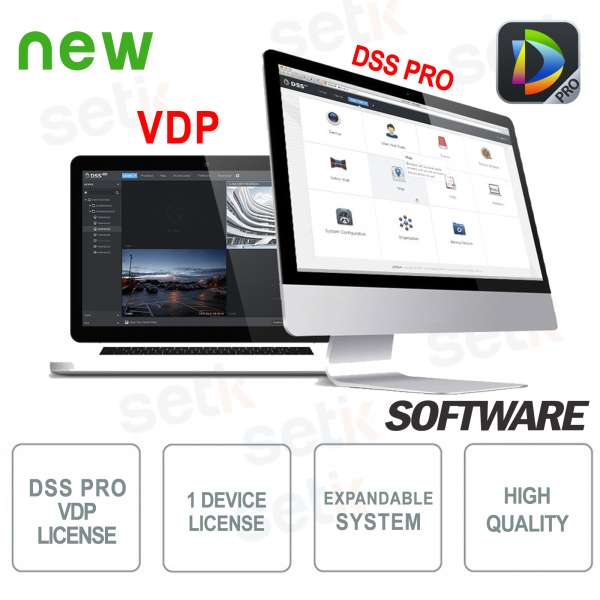 VMS Dahua Software DSS PRO Licenza Videocitofoni
