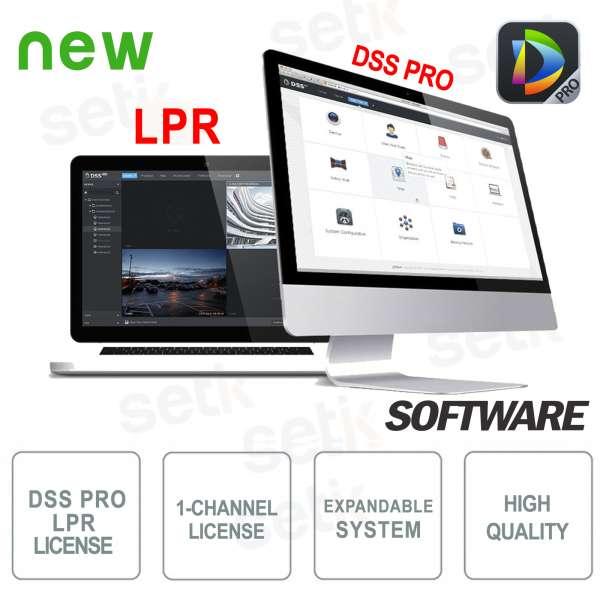 VMS Dahua Software DSS PRO Licenza Lettura Targhe