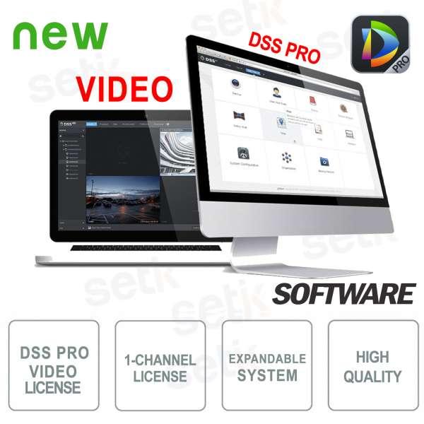 VMS Dahua Software DSS PRO Licenza Video