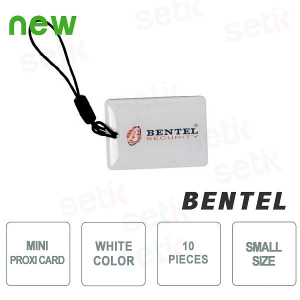 10x Mini Tessere di Prossimità - Bentel Security