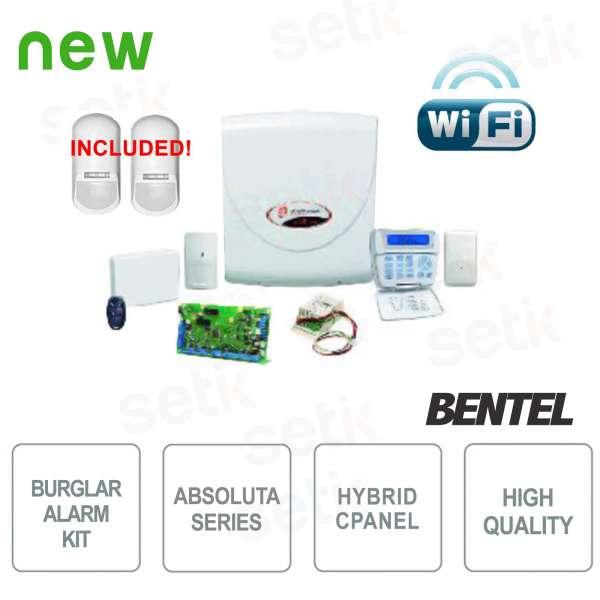 Promo Kit Antifurto Absoluta Bentel WiFi ABS-14KITSW + Sensori Perimetrali