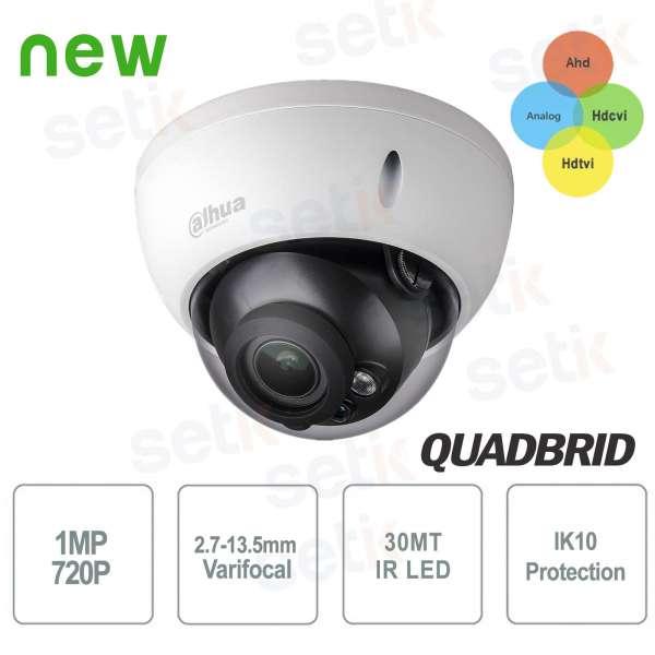 External camera Dahua 1MP HD CVI 4in1 2.7-12mm IK10
