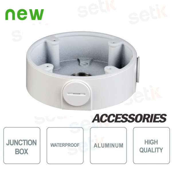 Water-proof junction box for Dahua HDW3 dome cameras