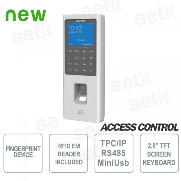 Anviz W2-MIFARE Biometric Standalone Fingerprint Reader