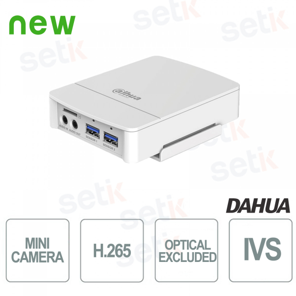 Mini Telecamera IP ONVIF Dahua 2MP VIDEO ANALISI