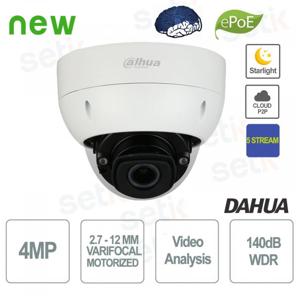 Starlight 5 Stream WDR Motorized 4MP PoE AI IP Camera - Dahua