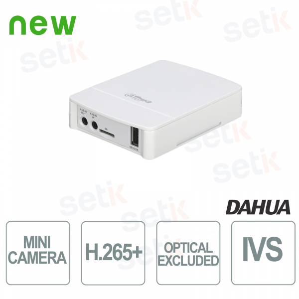 Mini IP Camera ONVIF PoE Dahua 2MP VIDEO ANALYSIS