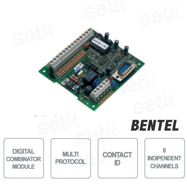 Modulo Combinatore Digitale Multi-Protocollo Contact ID - Bentel Security