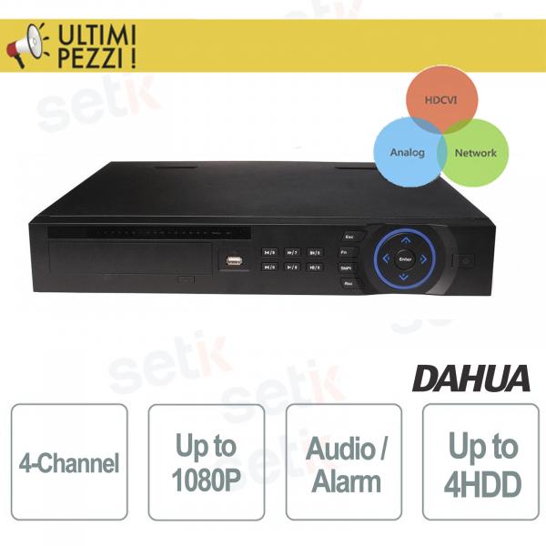 4-Channel Analog / IP / HDCVI - DAHUA Tri-Hybrid DVR