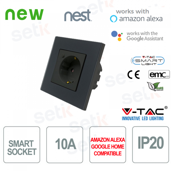 WIFI Socket Smart Home External socket Alexa Goole Home Nest V