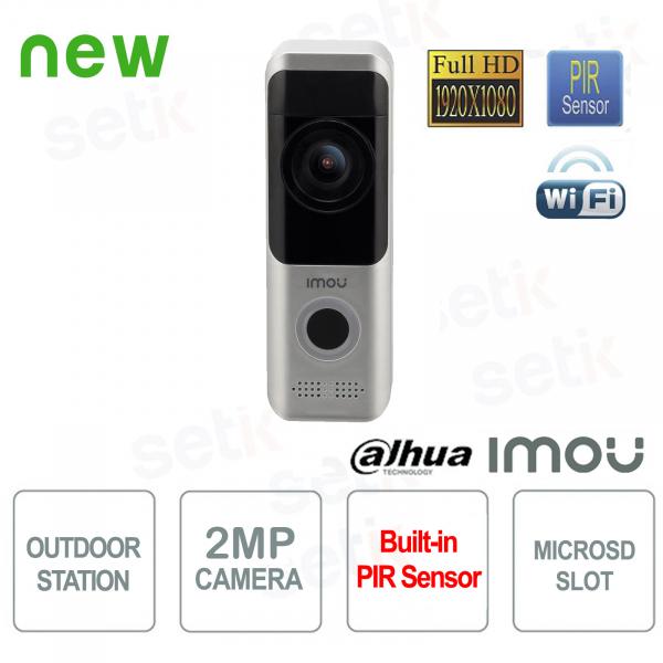 Imou Dahua Wireless Outdoor Station 2MP Video Door Phone FULL-HD camera PIR Audio A