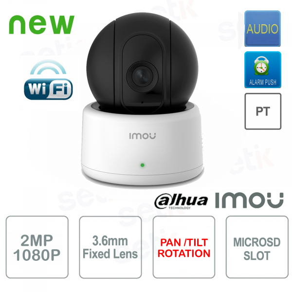Imou Telecamera IP Wireless 2MP Dahua PT da interno Audio