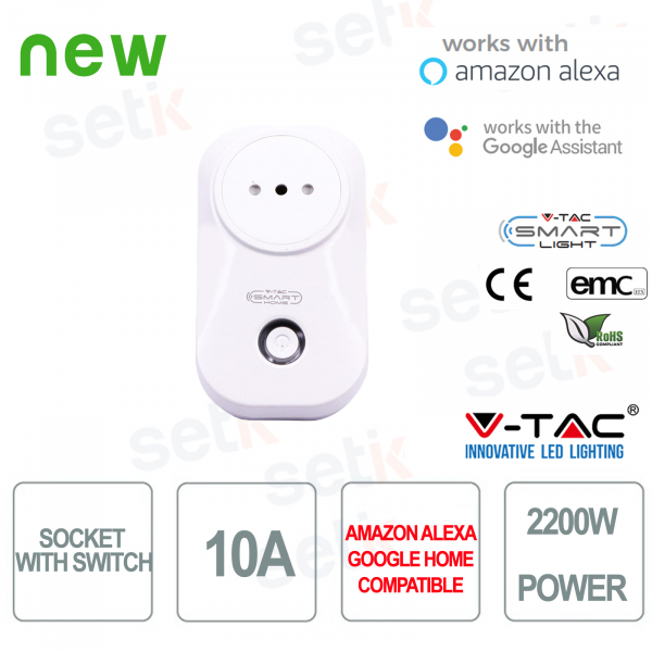 WIFI Electrical outlet Smart Home Alexa Google Home V