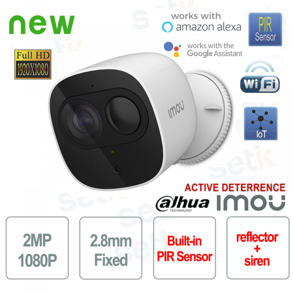 Telecamera Wireless IP Dahua 2MP Imou PIR Active Deterrence 2.8mm