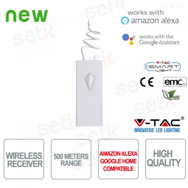 Interruttore 3 Tasti WIFI Smart Home Google Home Alexa V-TAC