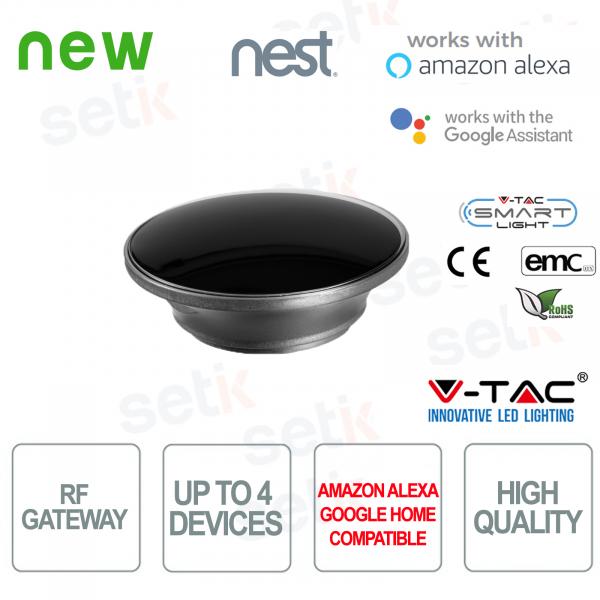 V-TAC Smart Gateway RF433 Amazon Alexa Google Home Nest