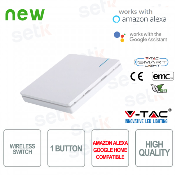 Interruttore WIRELESS Smart Home V-TAC