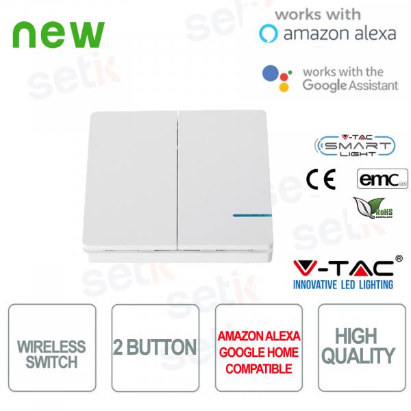 Switch 2 Keys WIRELESS Smart Home V