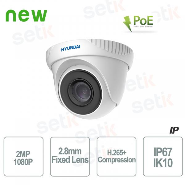 Outdoor IP ONVIF PoE camera Hyundai 2 MP Dome IR Fixed O